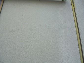 下地処理後の外壁