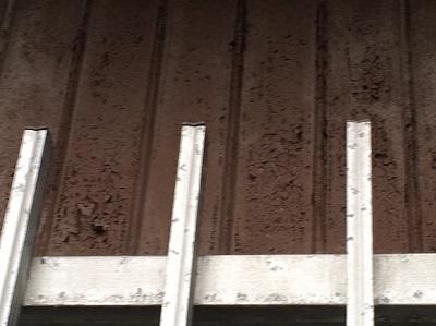 外壁のトタン