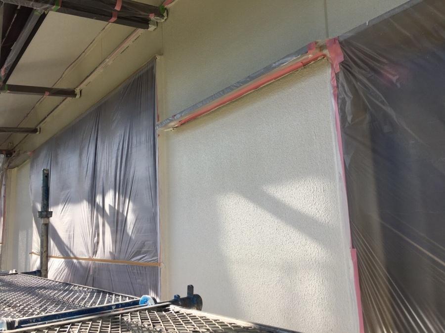 外壁塗装下塗り③