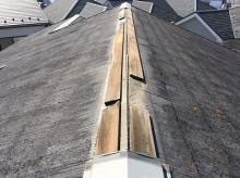 スレート屋根 台風 被害