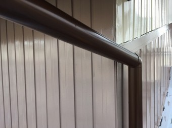 春日井市 雨樋 塗装