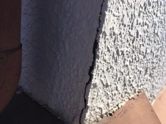 外壁 モルタル クラック