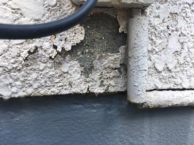 モルタル 外壁 剥がれ
