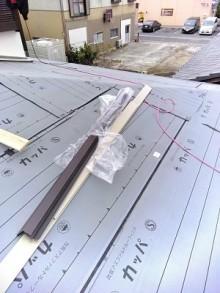 北名古屋市 屋根葺き替え 防水シート