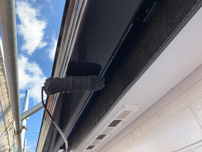 春日井市I様宅の外壁塗装工事がついに完了しました。