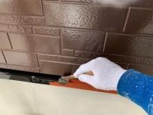 外壁塗装工事の細部の様子