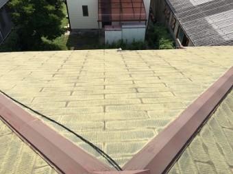 スレート屋根 施工前