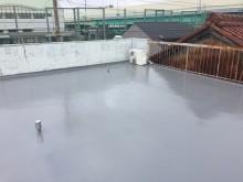 屋上 防水 施工後
