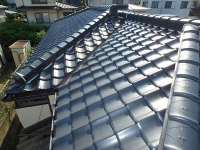 雨漏れの可能性がある屋根の調査