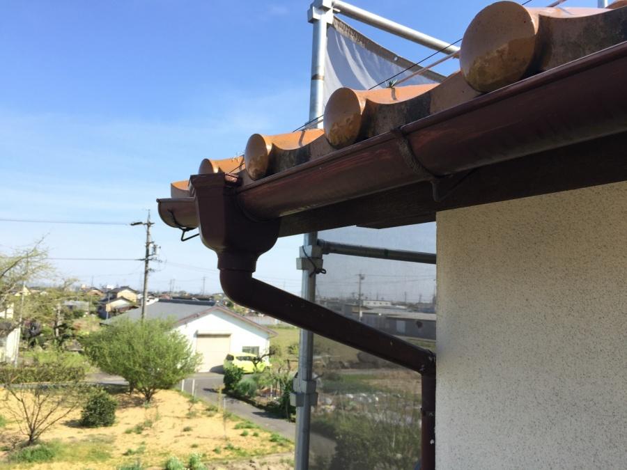 軒樋と集水桝