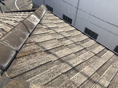 屋根点検前の写真