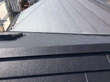 屋根修繕工事完工の様子