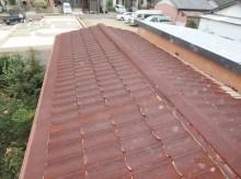 トタン屋根施工前写真