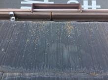 屋根塗装10年経過の屋根施工
