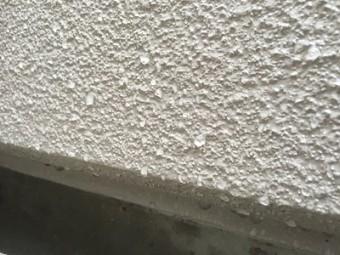 ALCを使用した外壁のアップ